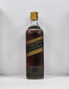 Johnnie Walker Black label very old