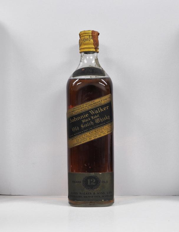 Johnnie Walker Black label very old